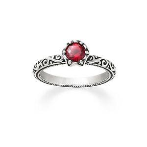 James Avery Cherished Birthstone Ring with Garnet